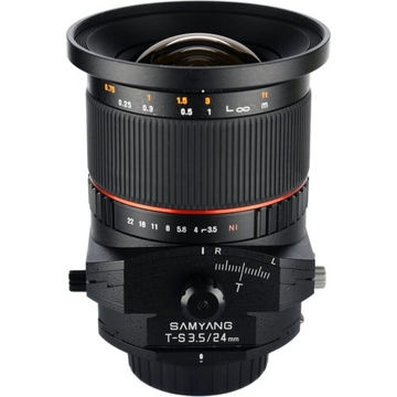 buy Samyang TILT/Shift Lens 24mm F3.5 ED AS UMC For Canon in India imastudent.com