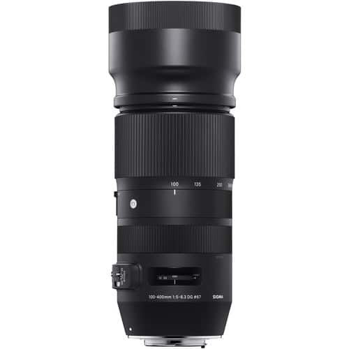 buy Sigma 100-400mm f/5-6.3 DG OS HSM/C Lens for Canon EF  in India imastudent.com