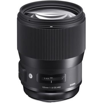 buy Sigma 135mm f/1.8 DG HSM Art Lens for Nikon F in India imastudent.com