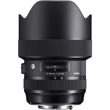 buy Sigma 14-24mm f/2.8 DG HSM Art Lens for Nikon F in India imastudent.com