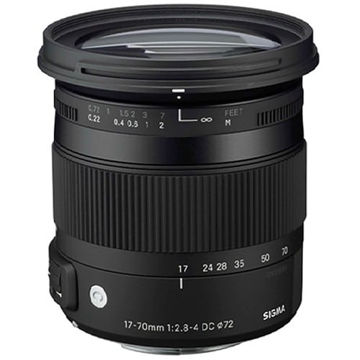 buy Sigma 17-70mm f/2.8-4 DC Macro OS HSM/C for Nikon in India imastudent.com