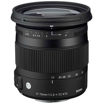 buy Sigma 17-70mm f/2.8-4 DC Macro OS HSM/C Lens for Canon in India imastudent.com