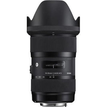 buy Sigma 18-35mm f/1.8 DC HSM Art Lens for Nikon in India imastudent.com