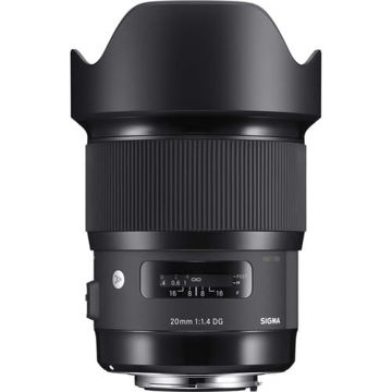buy Sigma 20mm f/1.4 DG HSM Art Lens for Nikon F in India imastudent.com