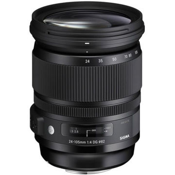 buy Sigma 24-105mm f/4 DG OS HSM Art Lens for Canon EF in India imastudent.com