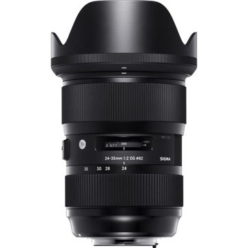 buy Sigma 24-35mm f/2 DG HSM Art Lens for Nikon F in India imastudent.com