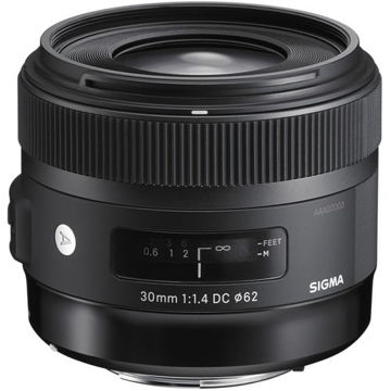 buy Sigma 30mm f/1.4 DC HSM Art Lens for Nikon in India imastudent.com