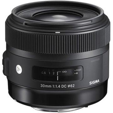 buy Sigma 30mm f/1.4 DC HSM Art Lens for Nikon in India imastudent.com