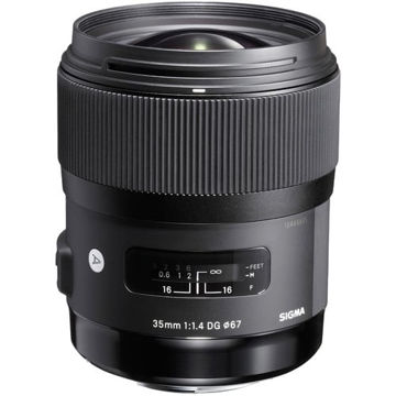 buy Sigma 35mm f/1.4 DG HSM Art Lens for Nikon F in India imastudent.com