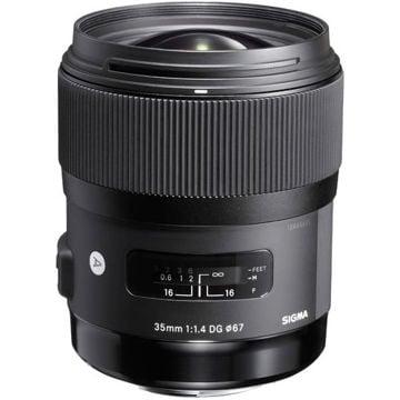 buy Sigma 35mm f/1.4 DG HSM Art Lens for Nikon F in India imastudent.com