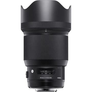 buy Sigma 85mm f/1.4 DG HSM Art Lens for Nikon F in India imastudent.com