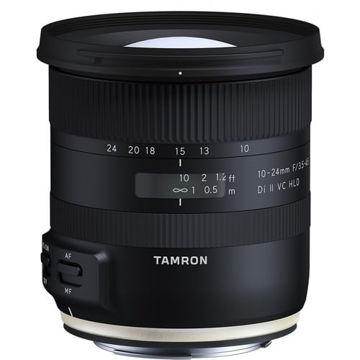 buy Tamron 10-24mm f/3.5-4.5 Di II VC HLD Lens for Canon EF in India imastudent.com