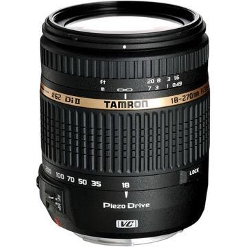 buy Tamron AF 18-270mm f/3.5-6.3 Di II VC PZD AF Lens for Nikon in India imastudent.com