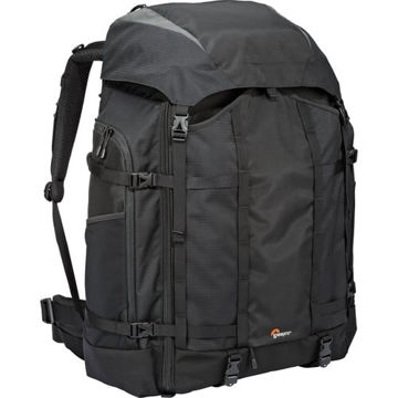 buy Lowepro Pro Trekker 650 AW Camera and Laptop Backpack (Black) in India imastudent.com