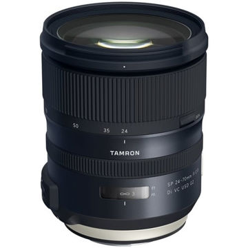 buy Tamron SP 24-70mm f/2.8 Di VC USD G2 Lens for Canon EF in India imastudent.com