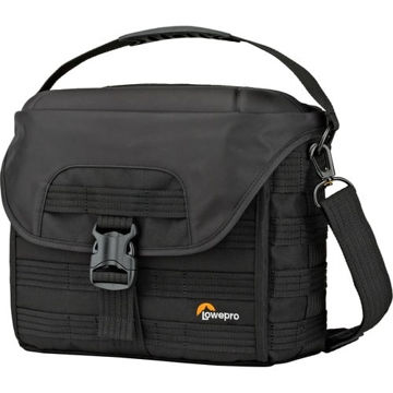 buy Lowepro ProTactic SH 180 AW Shoulder Bag for DSLR Camera & Lenses (Black) in India imastudent.com