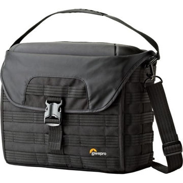 buy Lowepro ProTactic SH 200 AW Shoulder Bag for DSLR Camera & Lenses (Black) in India imastudent.com