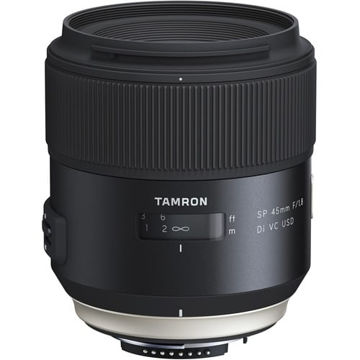 buy Tamron SP 45mm f/1.8 Di VC USD Lens for Nikon EF in India imastudent.com