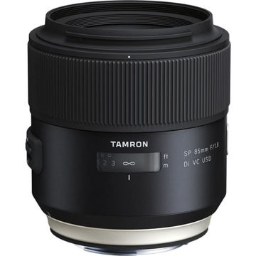 buy Tamron SP 85mm f/1.8 Di VC USD Lens for Canon EF in India imastudent.com