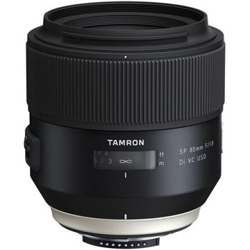 buy Tamron SP 85mm f/1.8 Di VC USD Lens for Nikon F in India imastudent.com