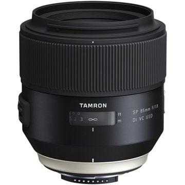 buy Tamron SP 85mm f/1.8 Di VC USD Lens for Nikon F in India imastudent.com
