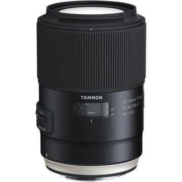 buy Tamron SP 90mm f/2.8 Di Macro 1:1 VC USD Lens for Canon EF in India imastudent.com