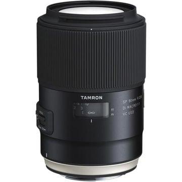 buy Tamron SP 90mm f/2.8 Di Macro 1:1 VC USD Lens for Canon EF in India imastudent.com