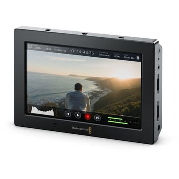 "buy Blackmagic Design Video Assist 4K 7"" HDMI/6G-SDI Recording Monitorin India imastudent.com"