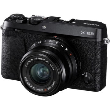 buy Fujifilm X-E3 Mirrorless Digital Camera with 23mm F2 R WR Lens Kit (Black) in India imastudent.com