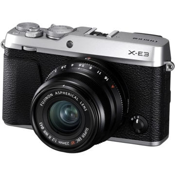 buy Fujifilm X-E3 Mirrorless Digital Camera with 23mm F2 R WR Lens Kit (Silver) in India imastudent.com