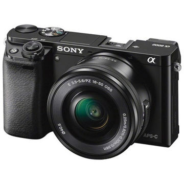 buy Sony Alpha a6000 Mirrorless Digital Camera with 16-50mm Lenses (Black)in India imastudent.com