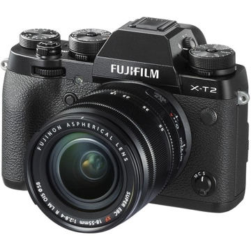 buy Fujifilm X-T2 Mirrorless Digital Camera with 18-55mm Lens in India imastudent.com