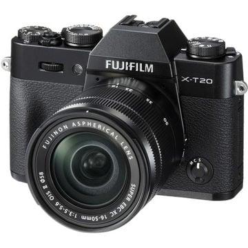 buy Fujifilm X-T20 Mirrorless Digital Camera Dual Kit (16-50mm + 50-230mm Lens) Black in India imastudent.com
