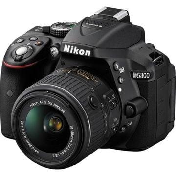 buy Nikon D5300 DSLR Camera with 18-55mm Lens (Black) in India imastudent.com