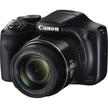 buy Canon PowerShot SX540 HS Digital Camera (Black) in india imastudent.com