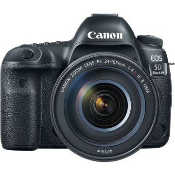 buy Canon EOS 5D Mark IV DSLR Camera with 24-105mm f/4L Lens in india imastudent.com
