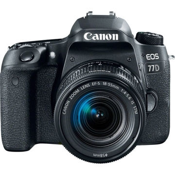 buy Canon EOS 77D DSLR Camera with 18-55mm Lens in india imastudent.com