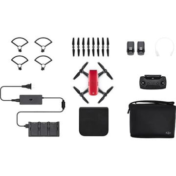 buy DJI Spark Fly More Combo (Lava Red) in India imastudent.com