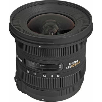 buy Sigma 10-20mm f/3.5 EX DC HSM Autofocus Zoom Lens For Nikon in India imastudent.com
