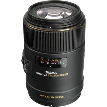 buy Sigma 105mm f/2.8 EX DG OS HSM Macro Lens for Nikon AF Cameras in India imastudent.com