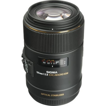 buy Sigma 105mm f/2.8 EX DG OS HSM Macro Lens for Canon EOS Cameras in India imastudent.com