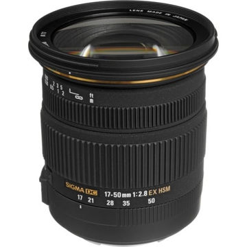 buy Sigma 17-50mm f/2.8 EX DC OS HSM Zoom Lens for Canon DSLRs with APS-C Sensors in India imastudent.com