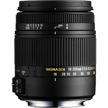buy Sigma 18-250mm F3.5-6.3 DC Macro OS HSM for Nikon F Mount in India imastudent.com