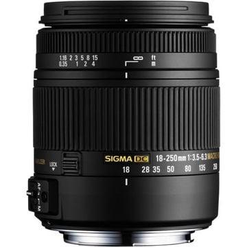 buy Sigma 18-250mm F3.5-6.3 DC Macro OS HSM for Nikon F Mount in India imastudent.com