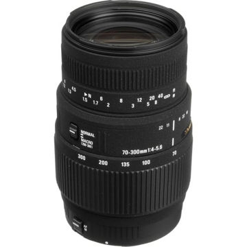buy Sigma 70-300mm f/4-5.6 DG Macro Lens for Canon EOS in India imastudent.com