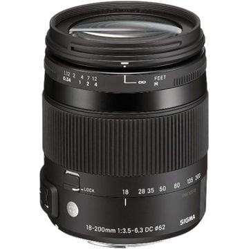 buy Sigma 18-200mm f/3.5-6.3 DC Macro OS HSM Lens For Sony Digital Cameras in India imastudent.com