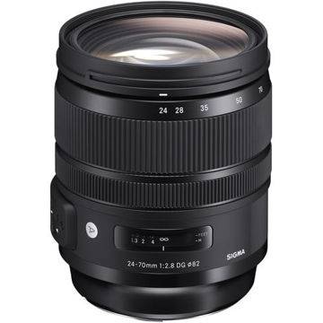 buy Sigma 24-70mm f/2.8 DG OS HSM Art Lens for Canon EF in India imastudent.com