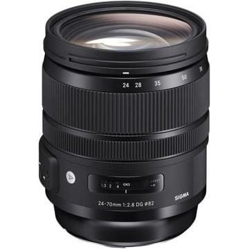 buy Sigma 24-70mm f/2.8 DG OS HSM Art Lens for Nikon F in India imastudent.com