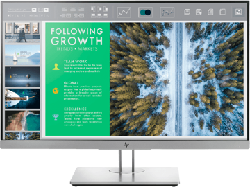 HP EliteDisplay E243 60.45 cm (23.8) Monitor price in india features reviews specs