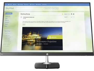 HP N270h 68.58 cm(27) Monitor price in india features reviews specs